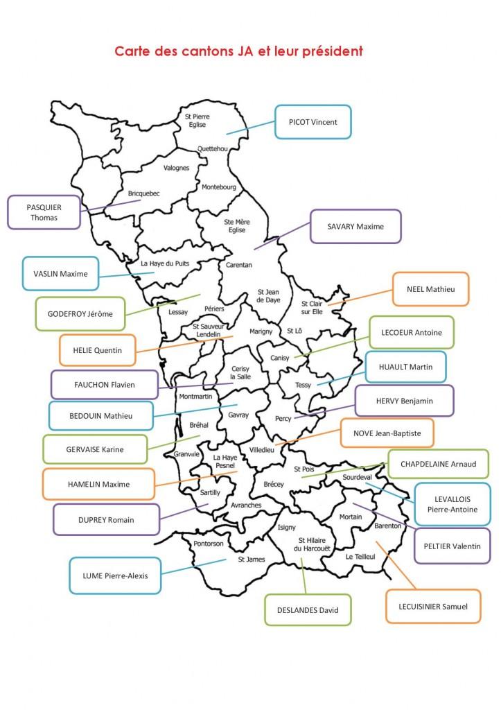 Carte des cantons JA 2016